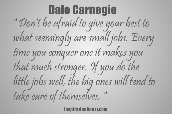dale-carnegie-quotes | Inspiration Boost