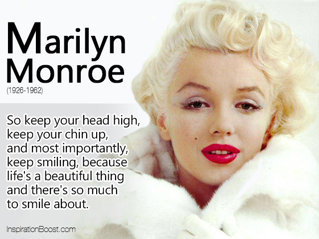 Marilyn Monroe Quotes About Life. QuotesGram