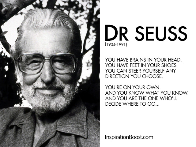 dr seuss be yourself quotes inspiration boost