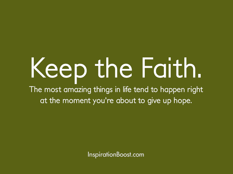 Faith Quotes: Inspiration Boost