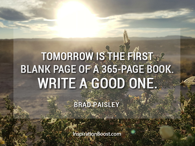 Quote to Start a Great 2017: Write a Good One