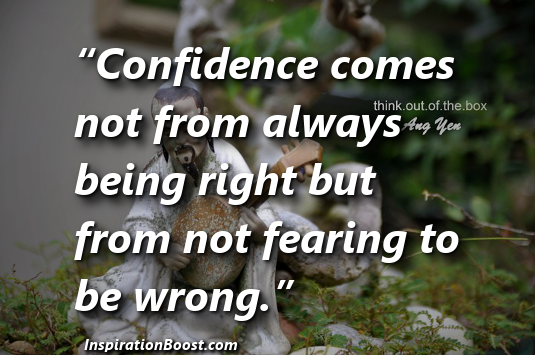Quotes Confidence Inspiration Boost