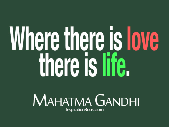 MahatmaGandhiLoveLifeQuotes Inspiration Boost Classy Mahatma Gandhi Quotes On Love