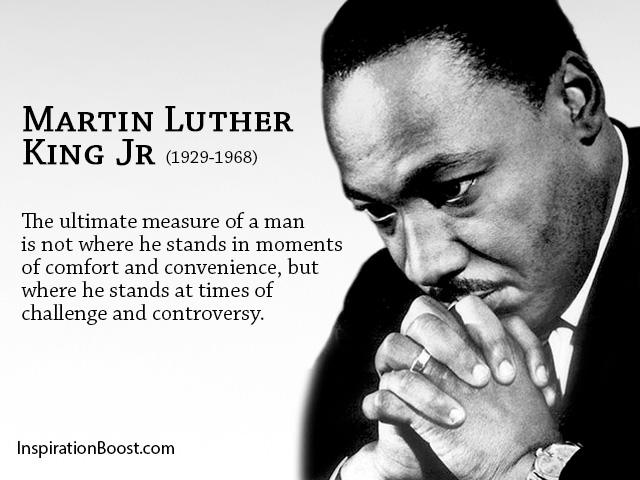 Martin Luther King Jr Challenges Quotes Inspiration Boost Adorable Quotes About Challenges