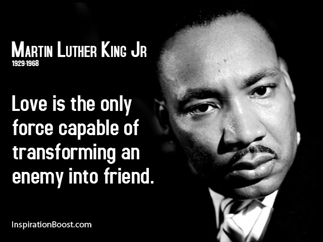 Martin Luther King Jr Friend Quotes | Inspiration Boost